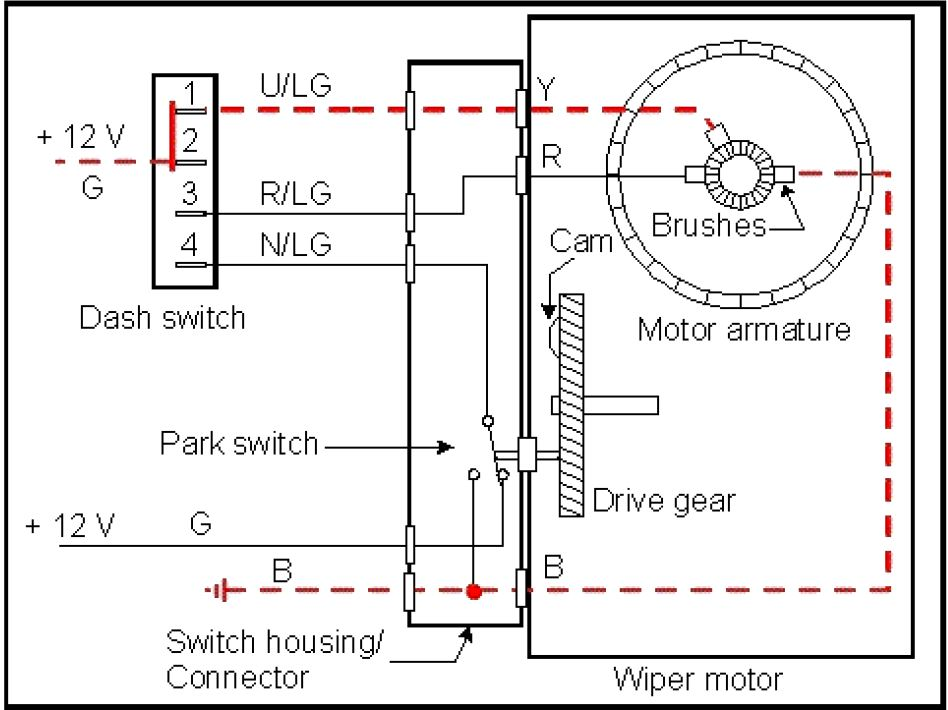 Ongaro Heavy Duty Wiper Motor Wiring Diagram Front Bumper Assembly ...