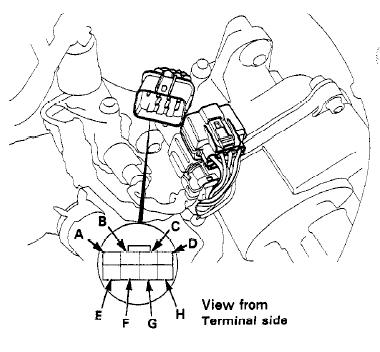 Diagram Obd2a To Obd1 Distributor Wiring Diagram Honda Tech Diagram