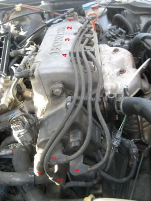 DIY 9600 Honda Civic Tune up and fuel filter  HondaTech