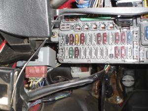 please help, where is the damn horn relay? 92 EG CX  HondaTech  Honda Forum Discussion