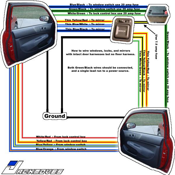 Speaker Wiring Diagram 1997 Honda Civic 1996 Honda Civic Fuse ...