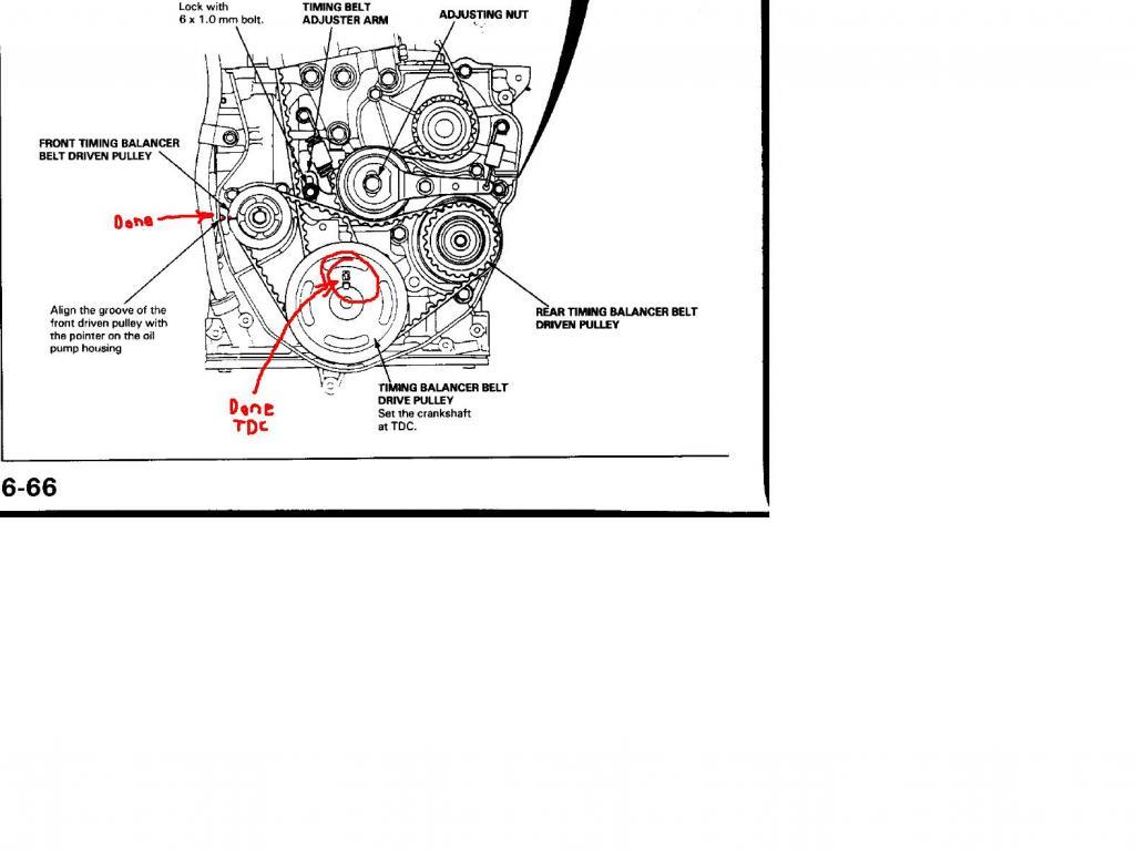 H22a Timing Problem Tdc