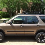 Honda Crv With Mud Tires