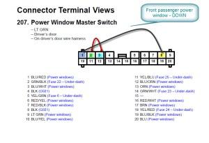 2005 CRV Power Windows Master Switch  HondaTech  Honda Forum Discussion