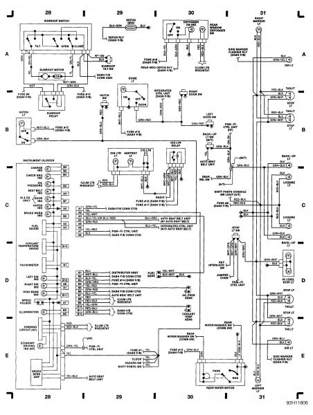 Honda Civic Fuse Box Diagram 1992 Prelude 2008 Honda Pilot