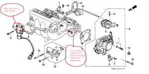OBD1 B20 swap 91 EX  FITV questions (what to do with wires?)  HondaTech  Honda Forum Discussion
