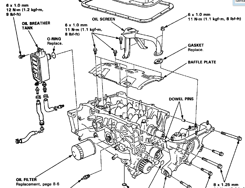 1990 1993 accord blower motor assembly resistor removal replacement 2617460 besides 94 honda prelude engine diagram