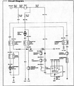 AC wiring diagram?  HondaTech  Honda Forum Discussion
