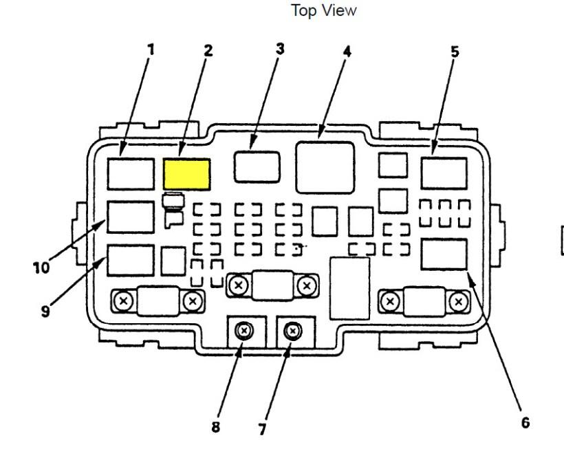 D Ac Problem Crv Underhood Fuse Relay Box on 2002 Honda Civic Blower Motor Resistor Location