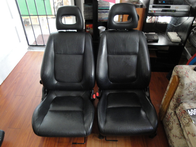 For Trades 2000 Acura Integra GS R Black Leather Seats