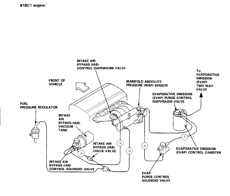 D16y8 Intake Manifold Diagram