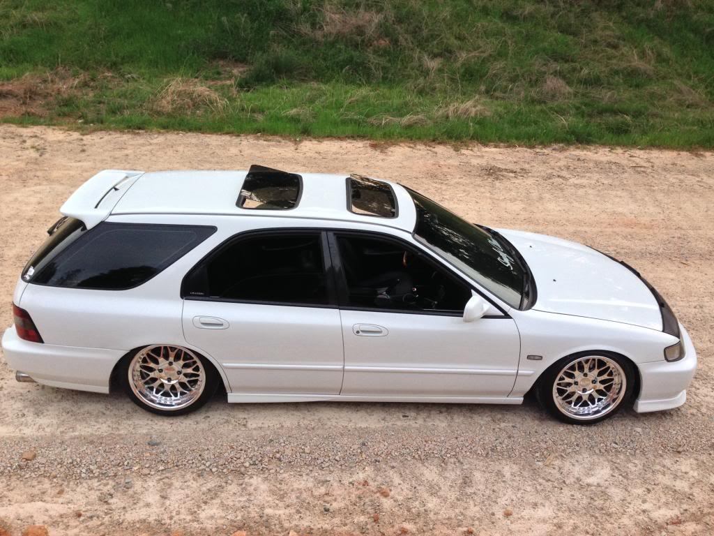 94 accord wagon build