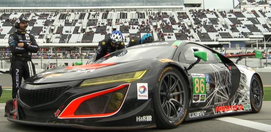 honda-tech.com Acura NSX GT3 12 Hours of Sebring IMSA CTSCC Sports Car Championship Racing