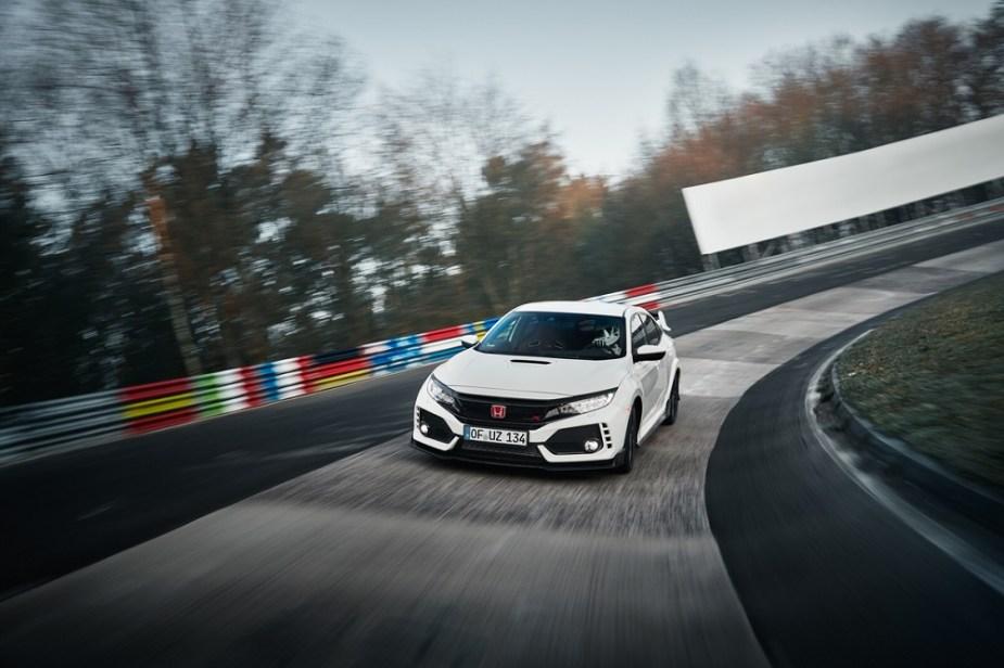 honda-tech.com Honda Civic Type R FK8 Nurburgring lap record