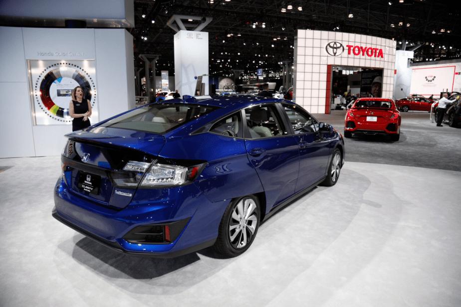 Honda-tech.com 2017 2018 Honda Clarity Fuel Cell New York International Auto Show NYIAS