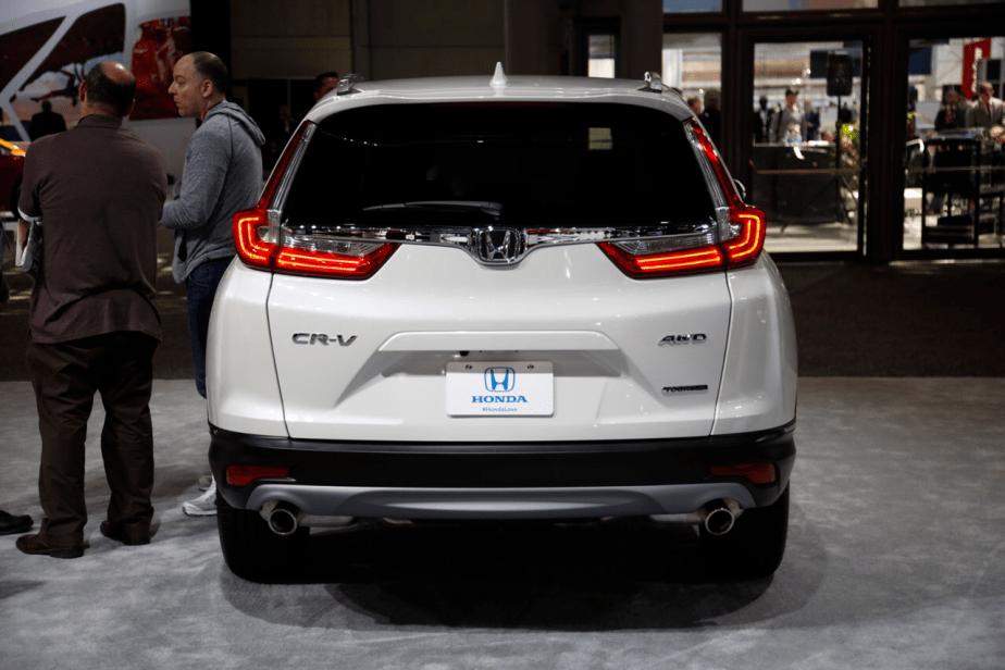 Honda-tech.com 2017 2018 Honda CRV New York International Auto Show NYIAS