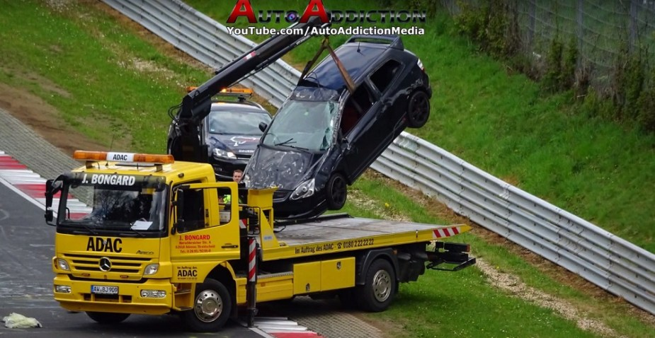 Honda-tech.com Honda Civic Type R EP3 Nurburgring Crash
