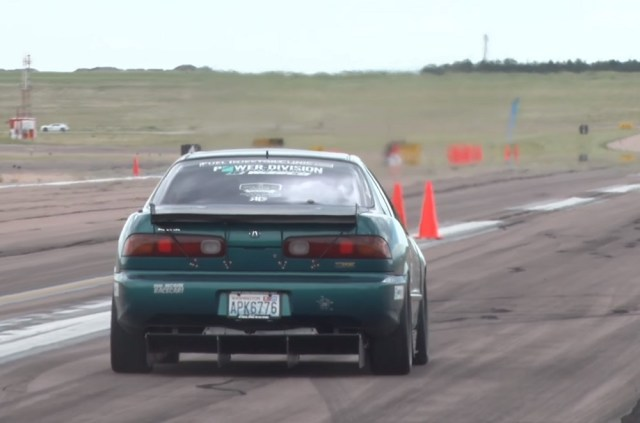 Honda-tech.com honda acura integra 200MPH 1/2 mil drag race 1000whp horsepower 1320 video Shift S3ctor