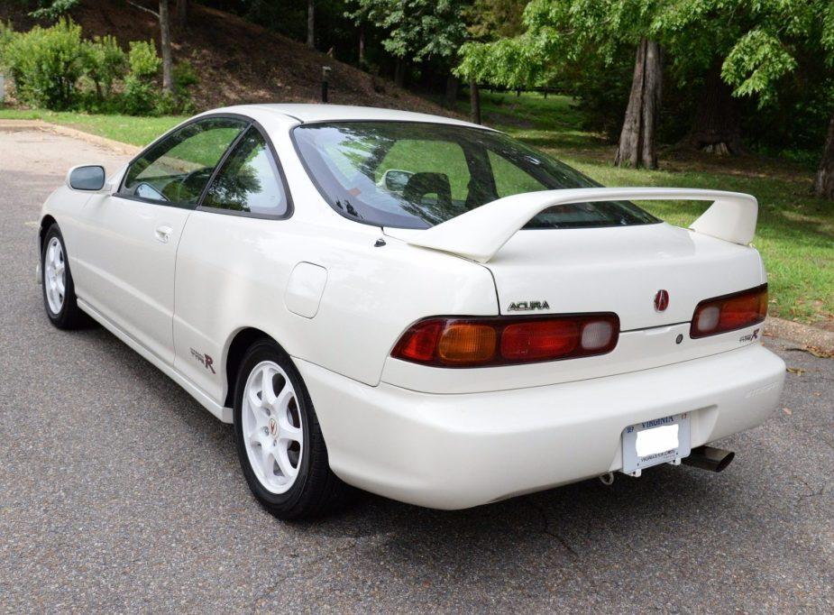 Honda-tech.com Honda Acura DC2 Integra Type R 1997 '97 BaT Bring a Trailer Auction $28,500