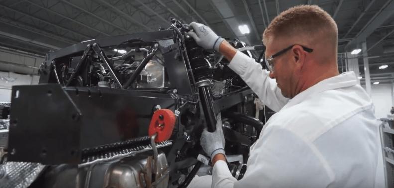 Acura NSX factory tour