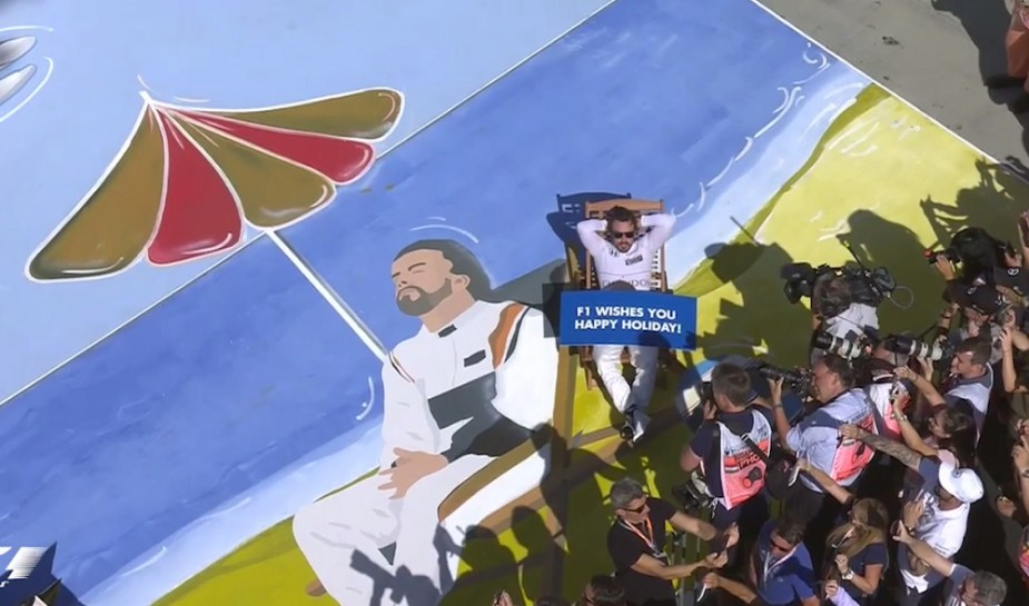 Honda-tech.com Fernando Alonso's Holiday at Formula 1 in Hungaroring