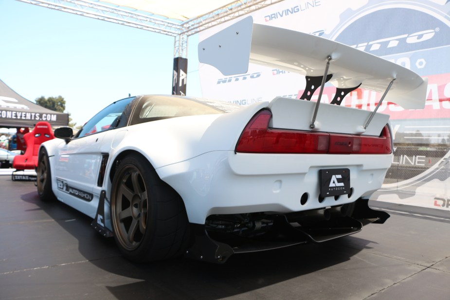 Honda-tech.com 2017 Nitto Auto Enthusiast Day California Honda Acura NSX show car