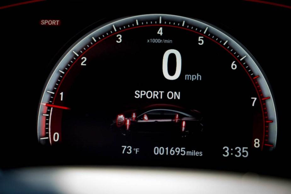 Honda-tech.com 2017 Honda Civic Si review sport mode adaptive dampers display