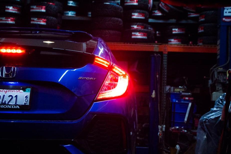 Honda-tech.com 2017 Honda Civic Sport hatchback 1.5T L15B7 turbo dyno stock
