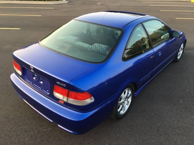 Honda-tech.com 1999 Electron Blue EM1 Civic Si Sale