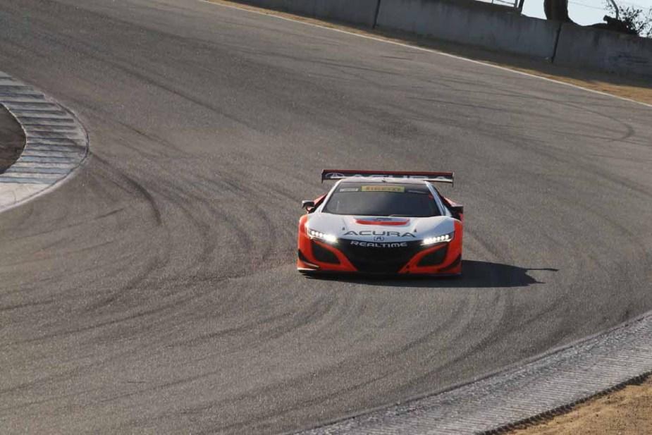 Honda-tech.com 8 Hour Race Laguna Seca RealTime Racing Acura NSX GT3