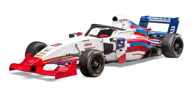 Formula 3 F3 Americas Honda K20 Turbo