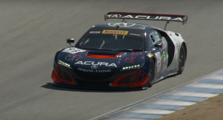 Honda-tech.com RealTime Racing NSX GT3 PWC 2017