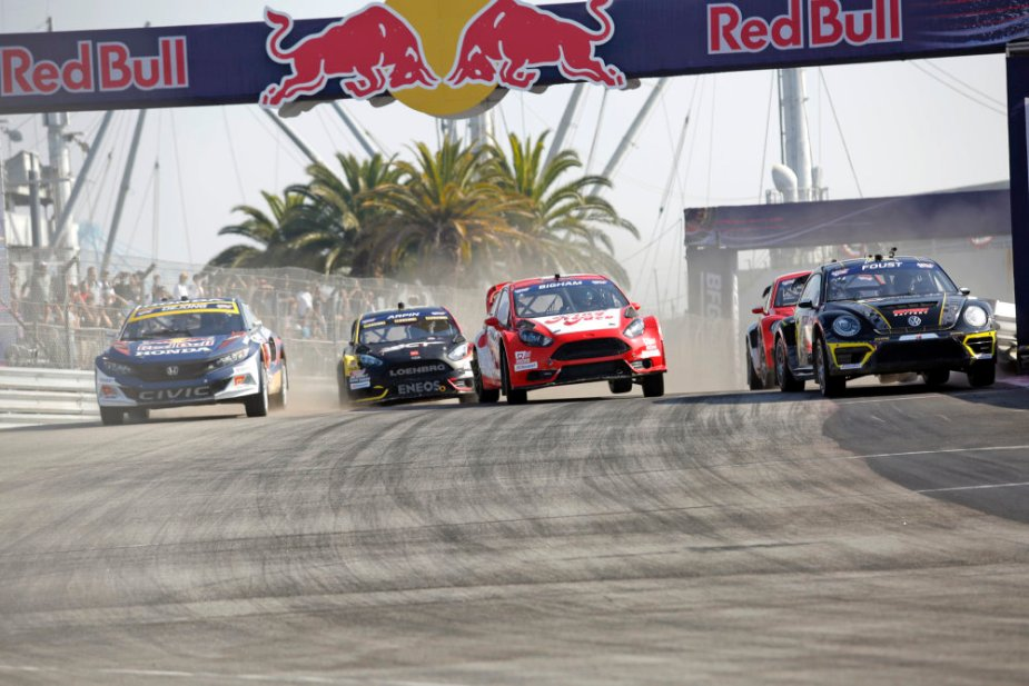 Foust Leads the GRC Field in LA