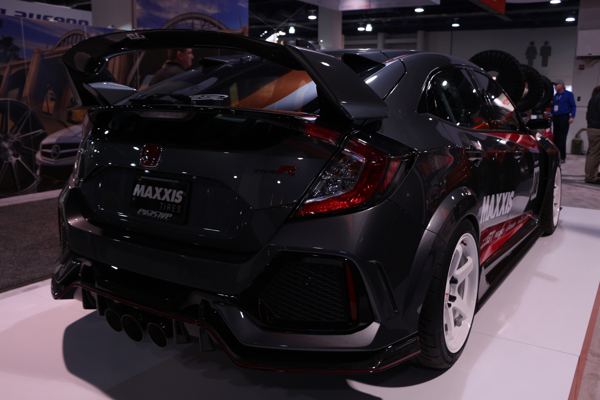 Honda-tech.com SEMA 2017 Every Honda Civic Type R at SEMA CTR