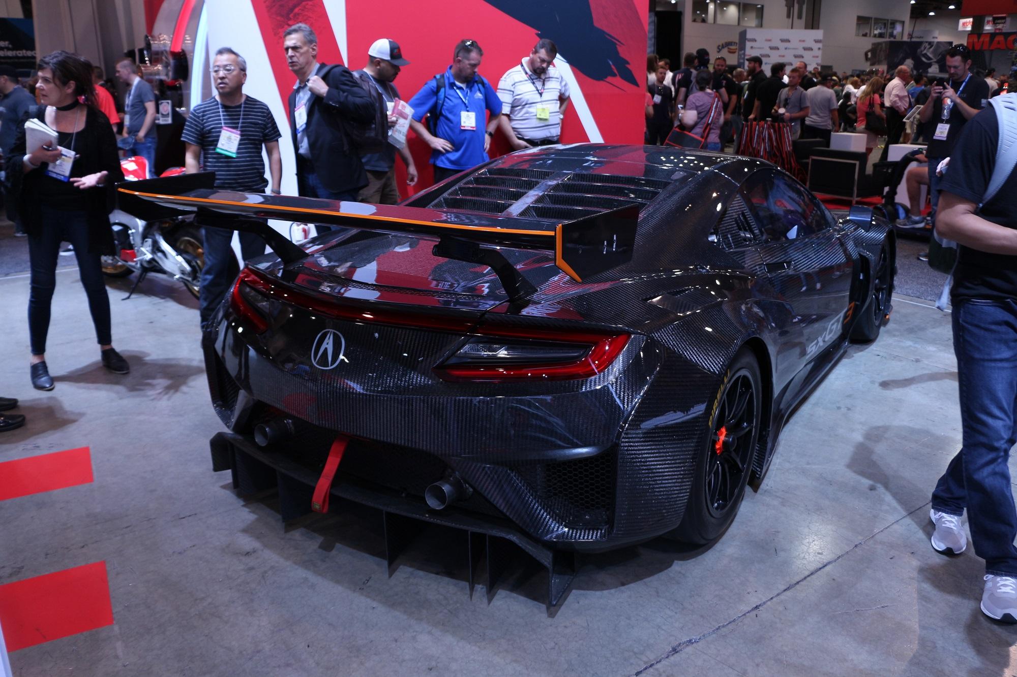 Honda-tech.com SEMA 2017 Honda Acura NSX GT3 TL TLX RealTime Racing