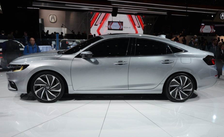 Honda Insight Prototype Side Profile