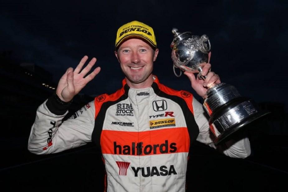 Gordon Shedden Honda Racing Driver BTCC