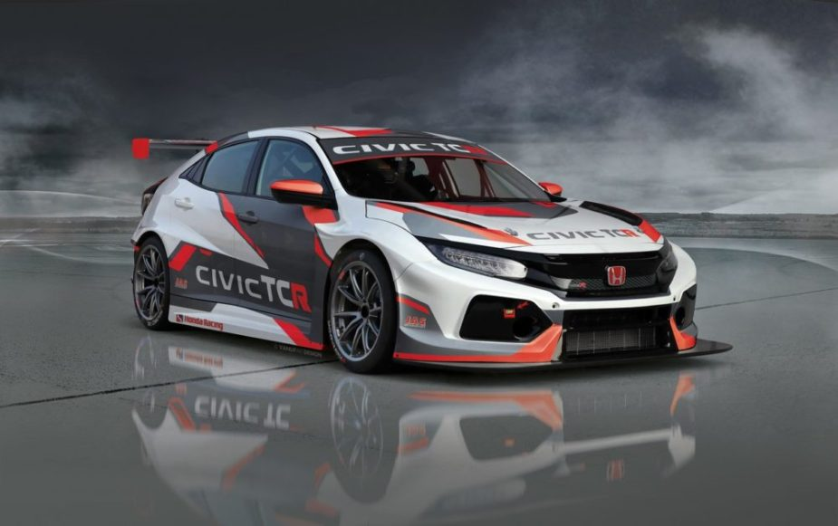 Honda-tech.com RealTime Racing Pirelli World Challenge TCR Honda Civic Type R FK8