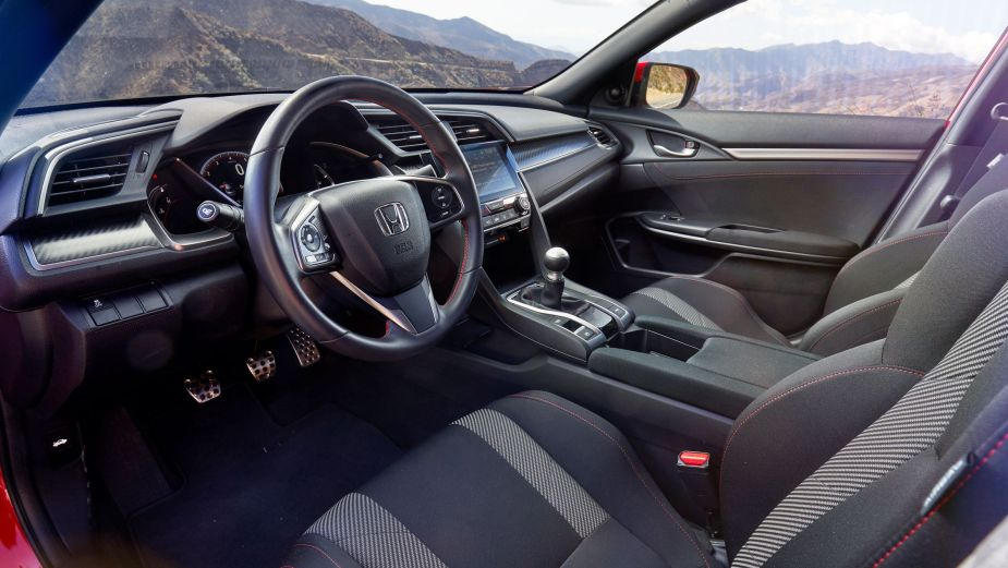 2017 Civic Si Interior