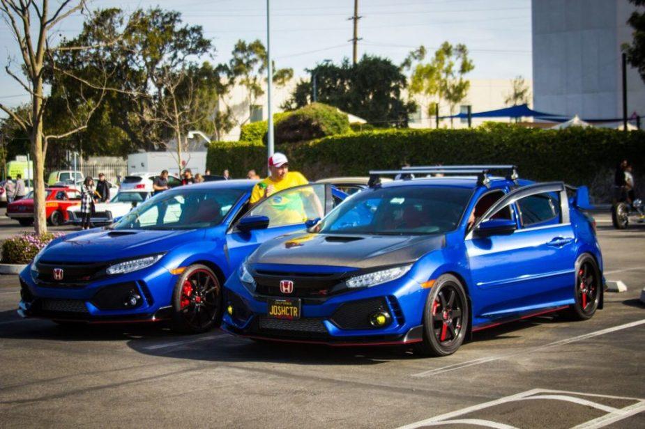 HONDA TECH - Cars and Coffee South Bay