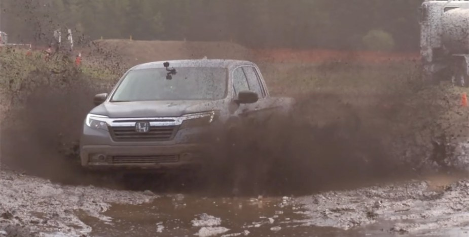 Honda Ridgeline Off-Road