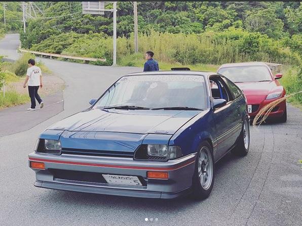 First generation Honda CR-X in Japan