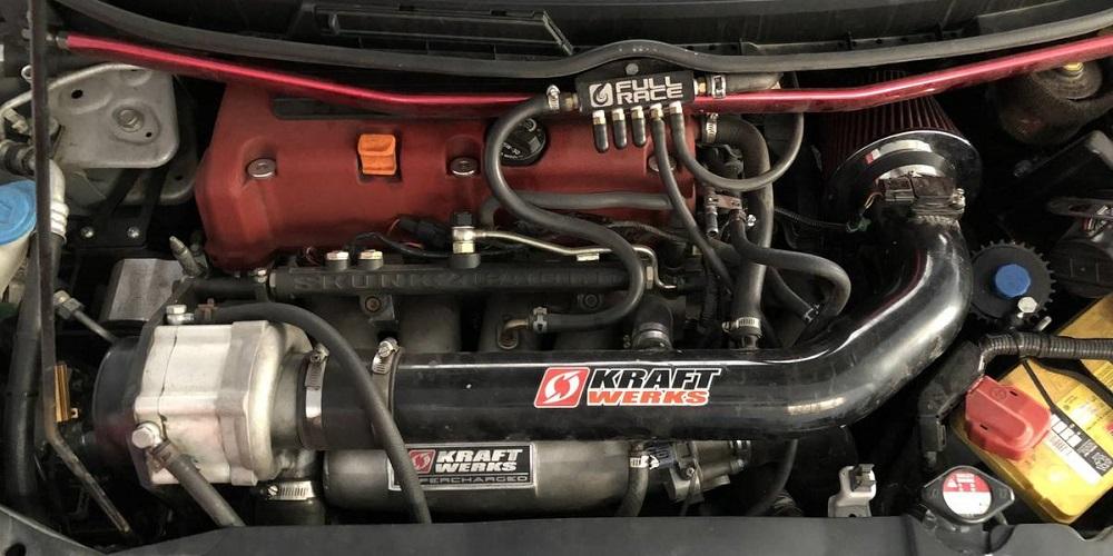 Kraftwerks Supercharged FA5 Honda Civic Si K20 Honda-tech.com