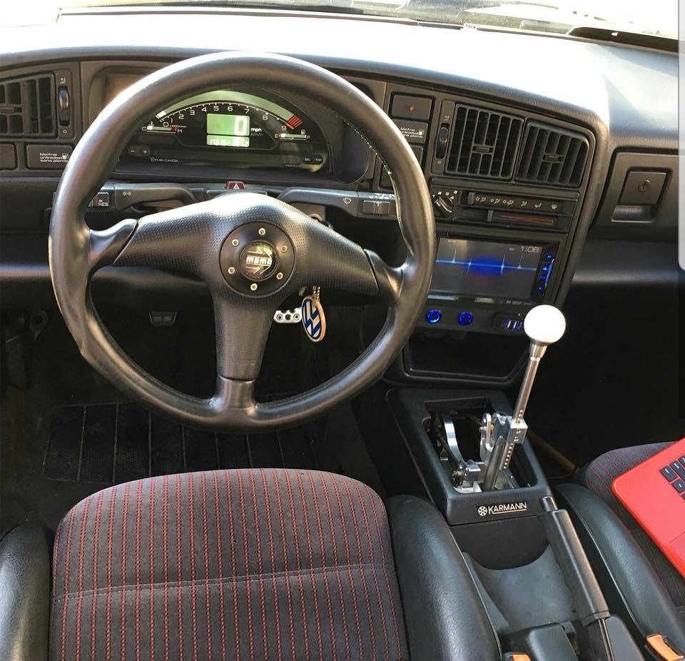 K swap Volkswagen Corrado VW