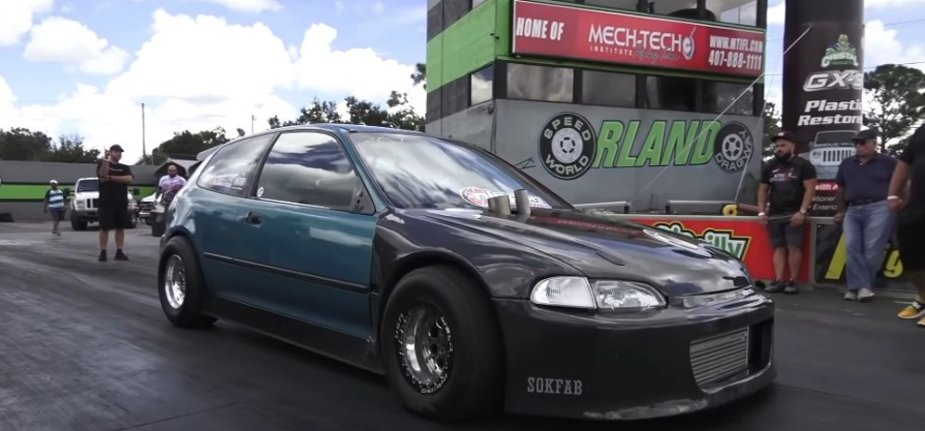 7-Second Civic EG Hatch on Track
