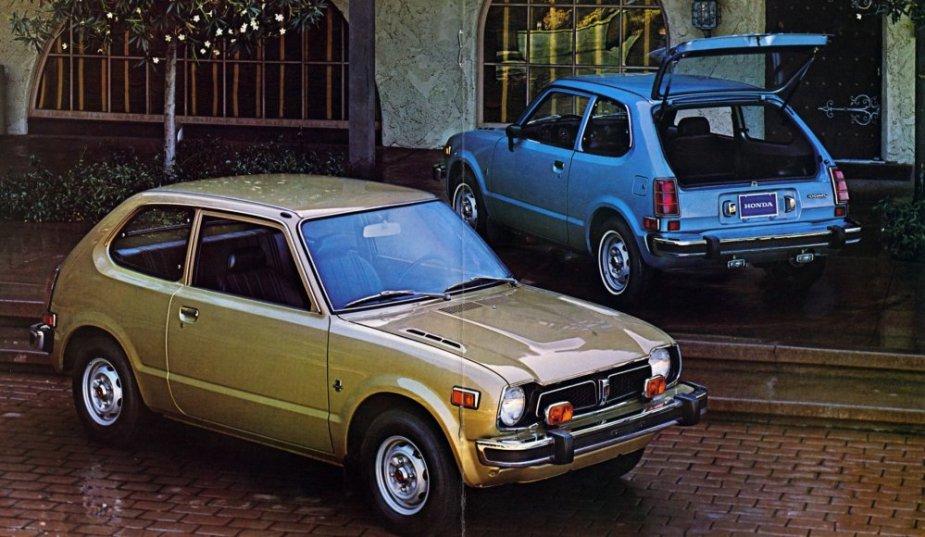 1976 Honda Civic Brochure