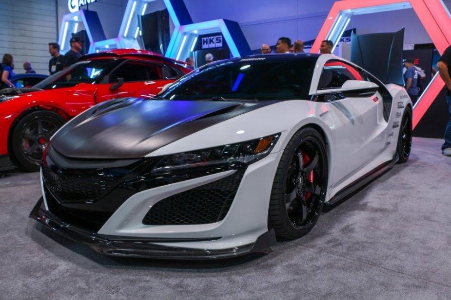 Seibon Carbon Acura NSX Front Corner