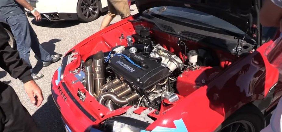 Honda Civic GSR Engine