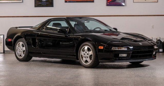 1991 Acura NSX 222 Front 3/4
