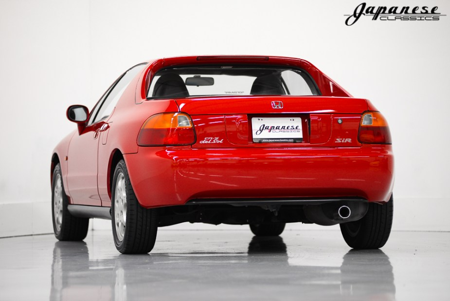 1992 Honda Del Sol SiR Trans Top Rear